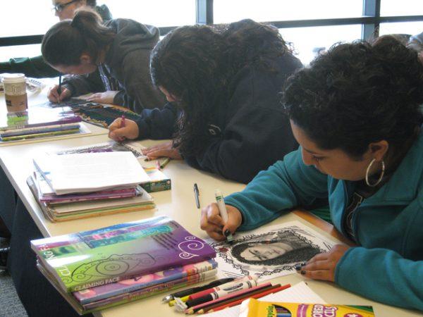 Educator training using Claiming Face curriculum at California State University, Monterey Bay