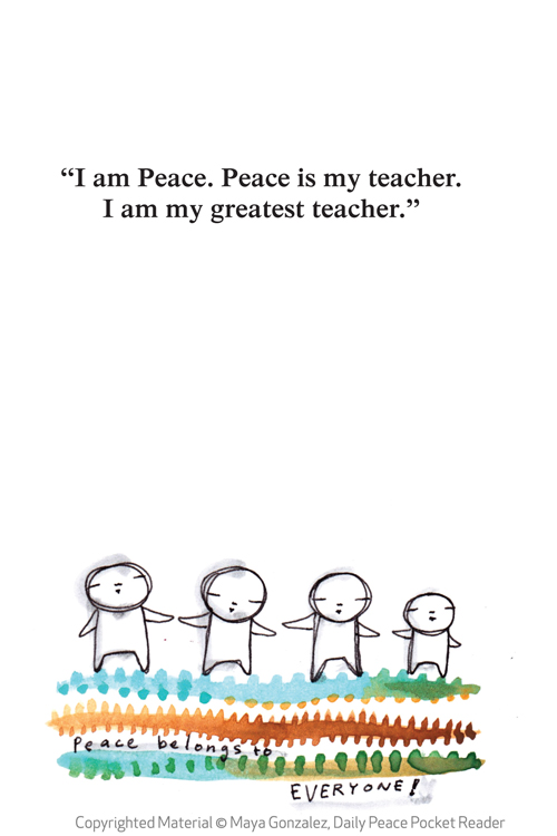 Daily Peace Pocket Reader - Sample Pages