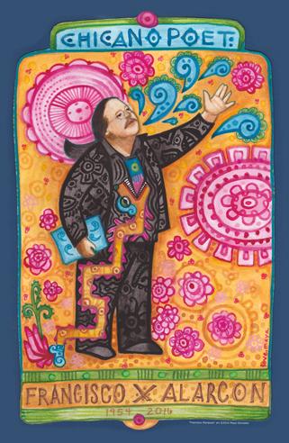 Francisco Mariposa Poster