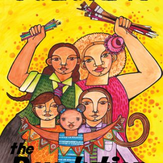 Coloring the Revolution #1 - coloring book by Maya Gonzalez