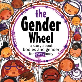 The Gender Wheel children's book by Maya Gonzalez