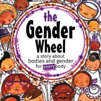 The Gender Wheel children's book by Maya Gonzalez