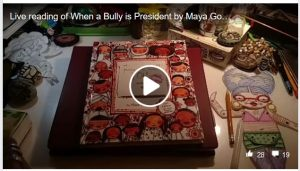 When a Bully is President - live book reading