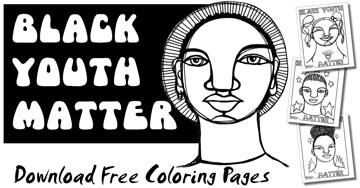 Download Free BLM Coloring Pages